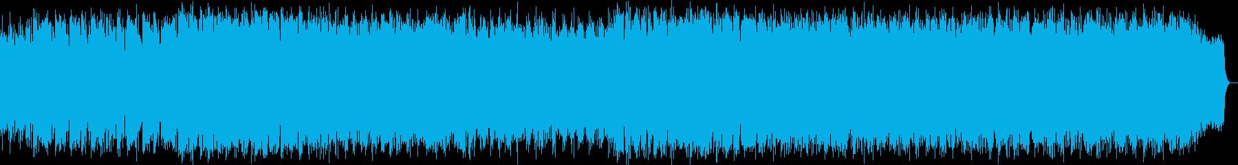 のどかな森のヒーリング音楽の再生済みの波形
