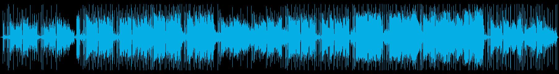 ずっと聴ける♪心温まるチル系ヒップホップの再生済みの波形