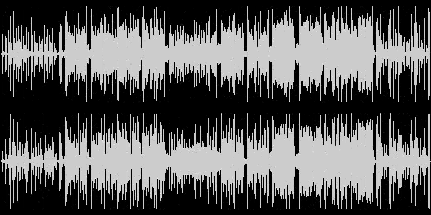 ずっと聴ける♪心温まるチル系ヒップホップの未再生の波形