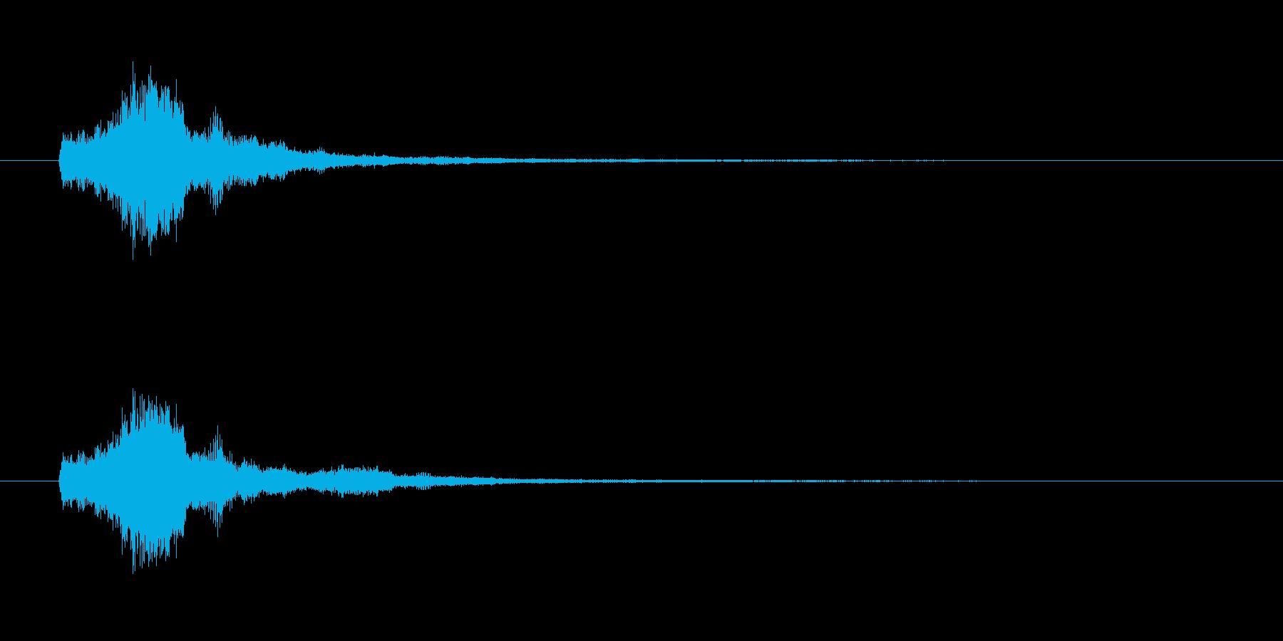 ベル_glissの再生済みの波形