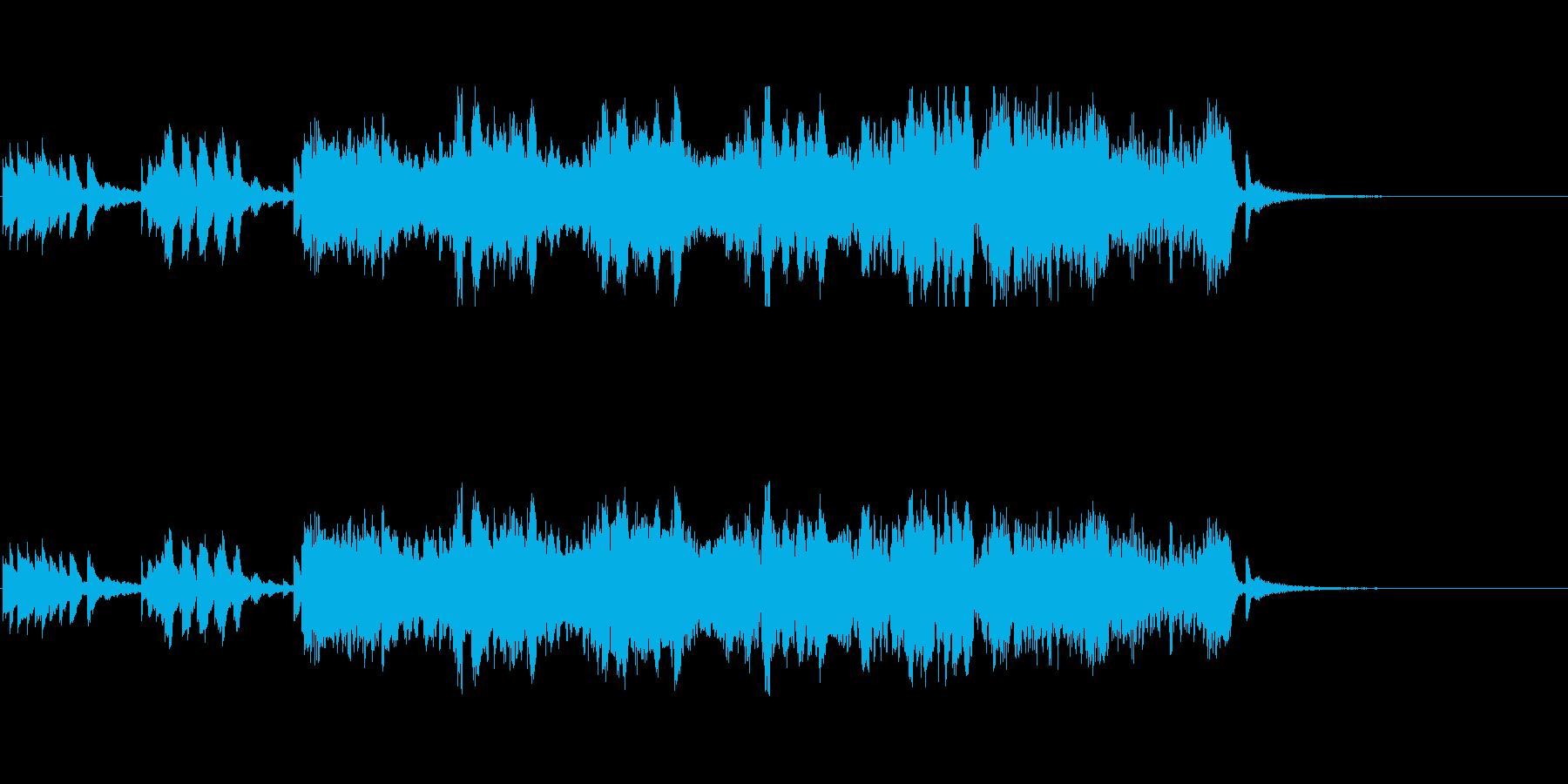 Entranceの再生済みの波形