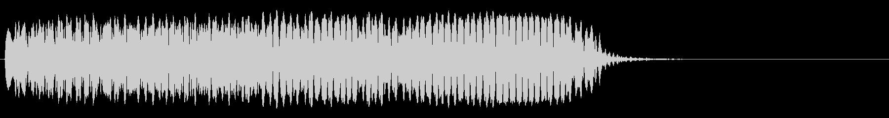 ハードブロー、フォリーの未再生の波形