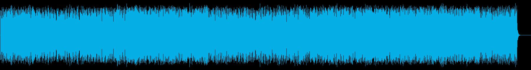 颯爽と繰り出す軽妙ポップ(フルサイズ)の再生済みの波形