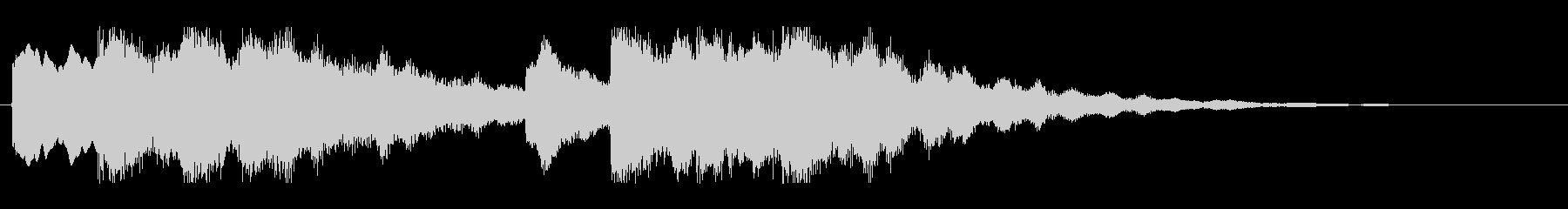 キーンコーンカーンコーン05(早め1回)の未再生の波形
