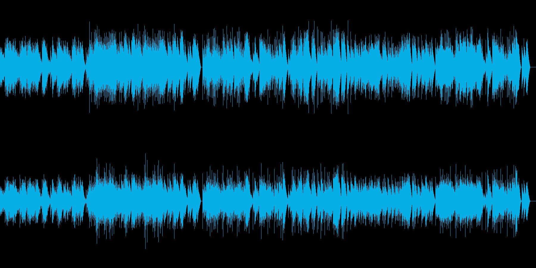 亡き王女のためのパヴァーヌ オルゴールの再生済みの波形