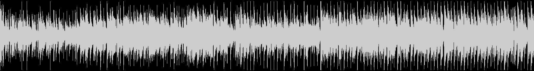 ファンキーなジャズ系ファンク ※ループ版の未再生の波形