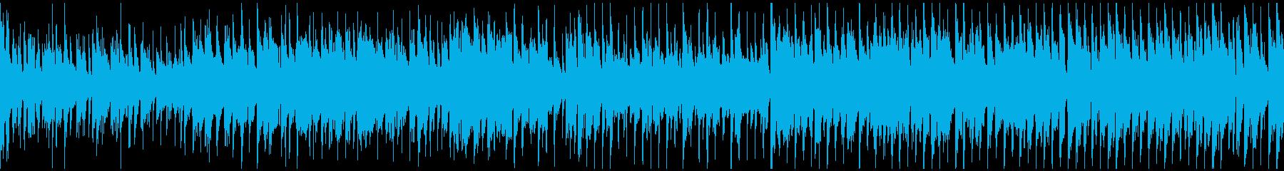 ファンキーなジャズ系ファンク ※ループ版の再生済みの波形