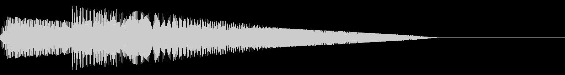 ピコココ(ファミコン/弾/攻撃/ジャンプの未再生の波形