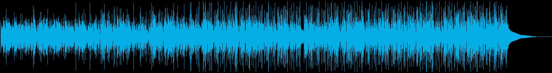 穏やか アコギ カントリー リラックスの再生済みの波形