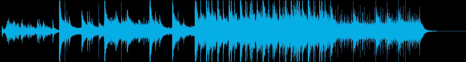 テンション高めるピアノBGM・ライブSEの再生済みの波形