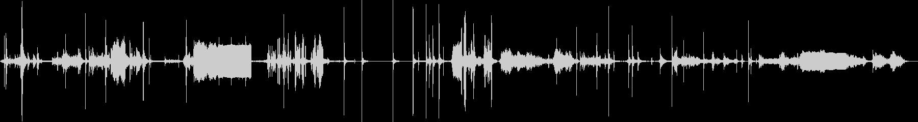 レトロコントロールルームパネル:ス...の未再生の波形