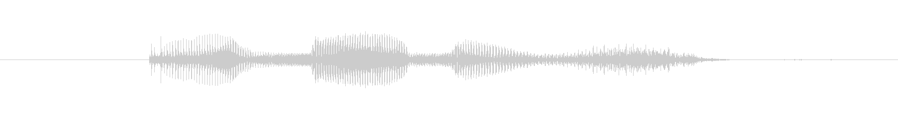 Now ... (female)'s unreproduced waveform