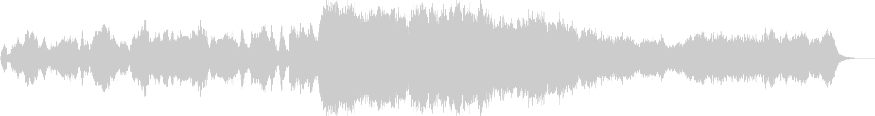 30秒のポジティブなオーケストラジングルの未再生の波形