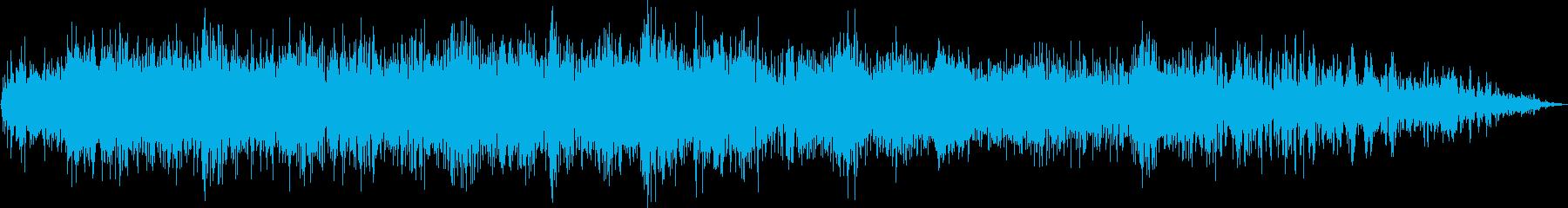 クイックノイズモーターフィルターの調整の再生済みの波形