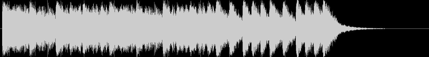 大迫力!壮大なフルオーケストラBGMの未再生の波形