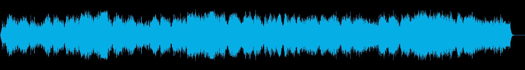 静穏な一時の安らぎのネイチャー系BGMの再生済みの波形