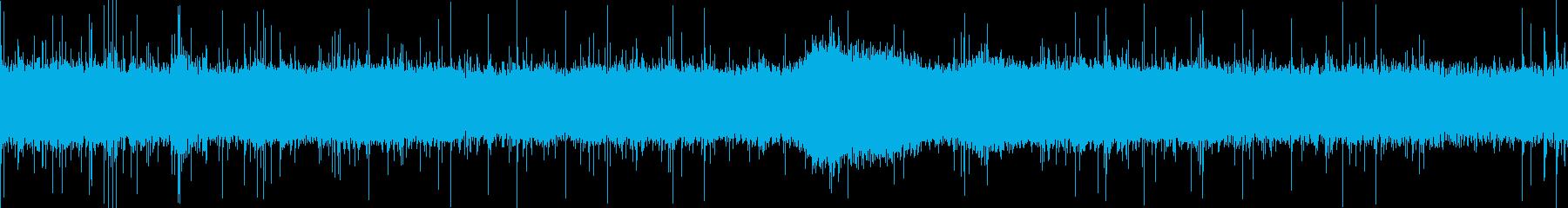 大雨の音(東京郊外)ループ処理済P1の再生済みの波形