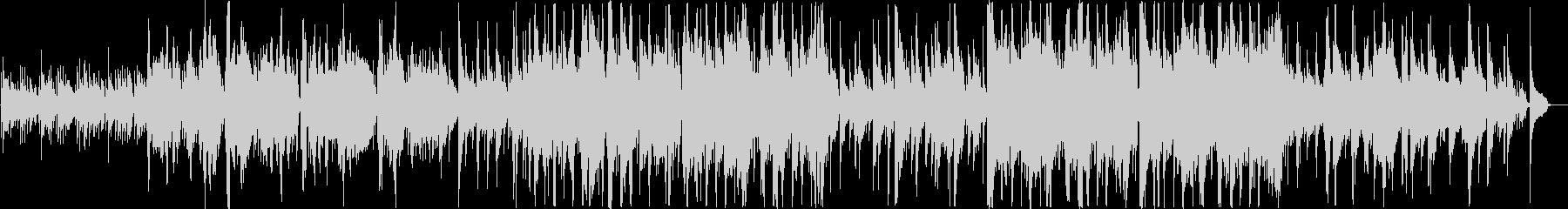 二胡による演奏の未再生の波形