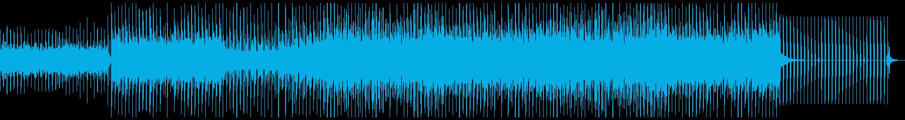 トロピカルなテイストと、切ないレゲトンの再生済みの波形