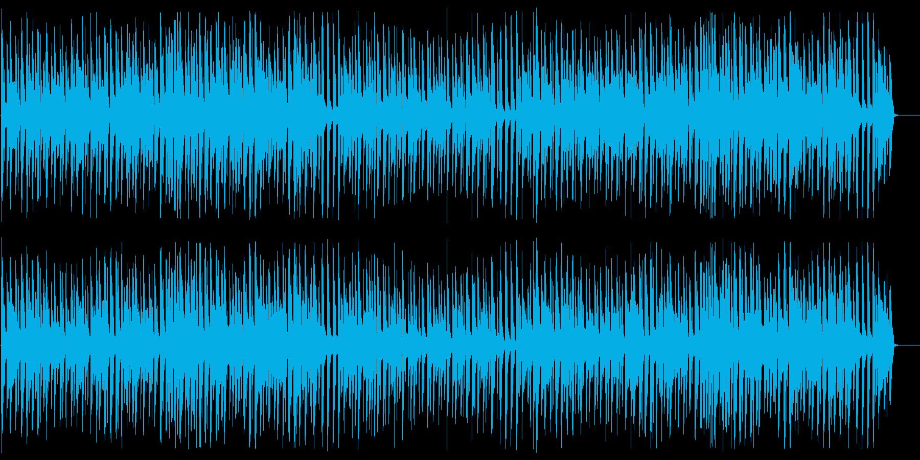 ほのぼの 明るめ ポップ の再生済みの波形