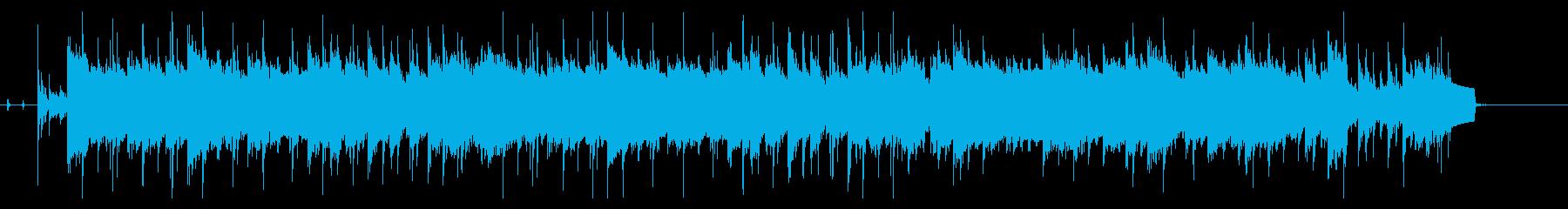 約50秒のイージーリスニングの再生済みの波形
