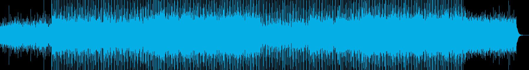 EDMポップで明るいクラブ系-42の再生済みの波形