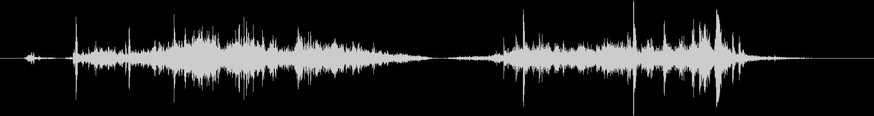 巻き尺を巻き戻す効果音 02の未再生の波形