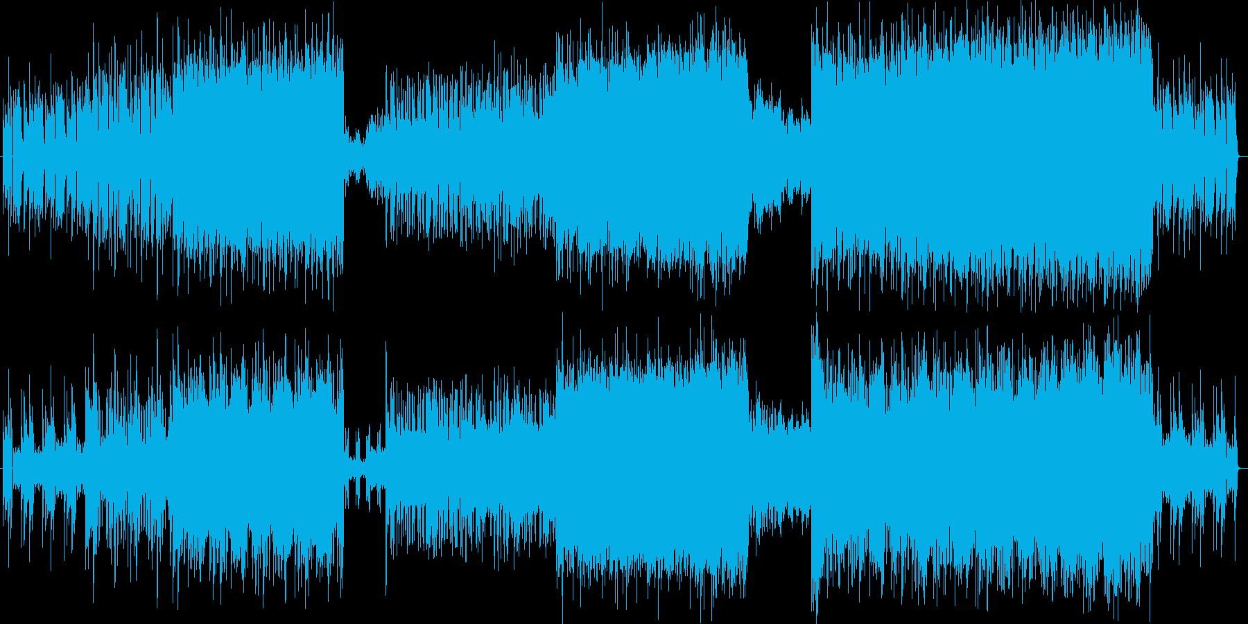 無邪気でコミカルな印象のエレクトロポップの再生済みの波形