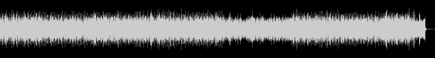 シンセを多用したコピューターミュージックの未再生の波形