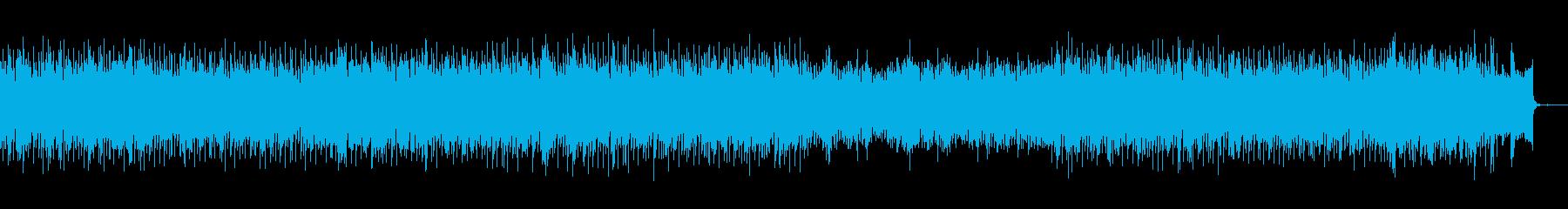 シンセを多用したコピューターミュージックの再生済みの波形