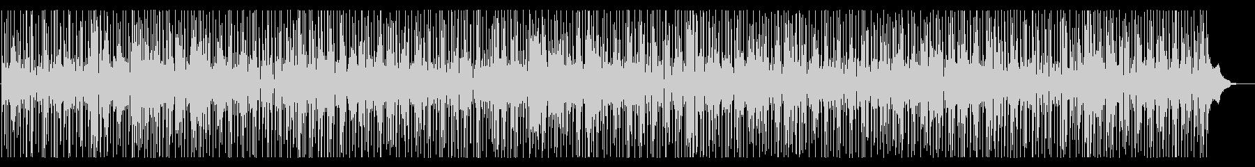 踊れるファンクジャズ・ノリノリ・管楽器の未再生の波形