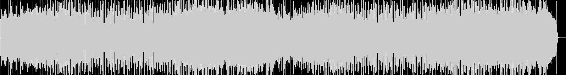 オーソドックスでシンプルなハードロックの未再生の波形