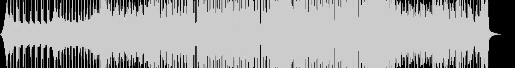 シンプルなフューチャーハウスの未再生の波形