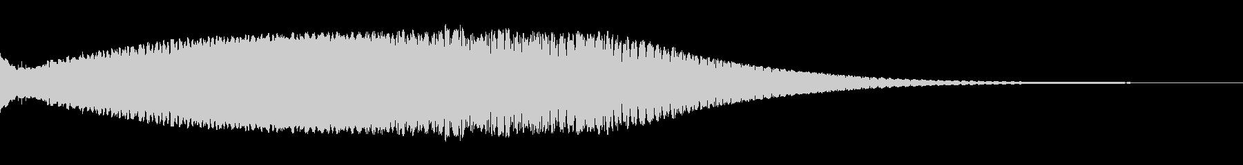 Scifi_FX_下降する電子音キュ〜ンの未再生の波形