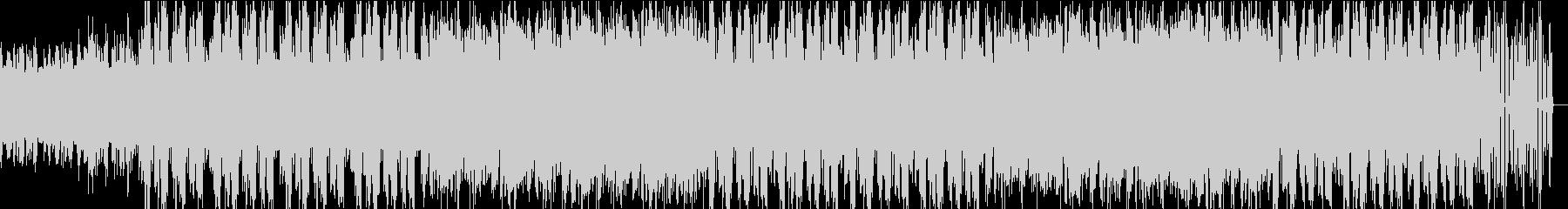 メロディアスで幻想的なチルアウトの未再生の波形