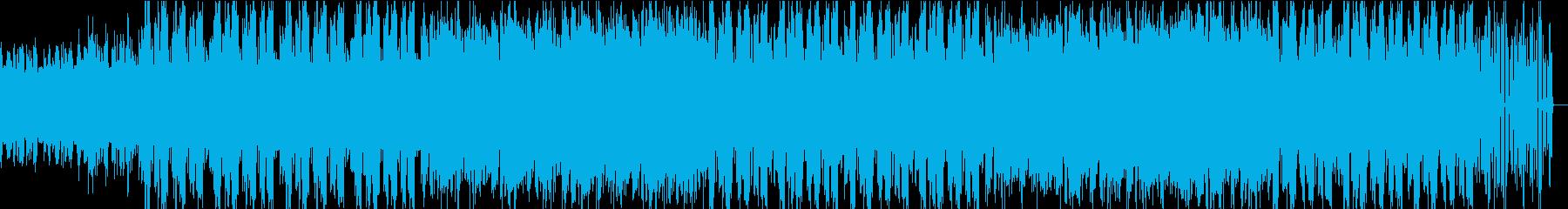メロディアスで幻想的なチルアウトの再生済みの波形