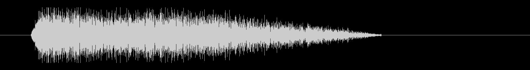 レーザー音-28-3の未再生の波形