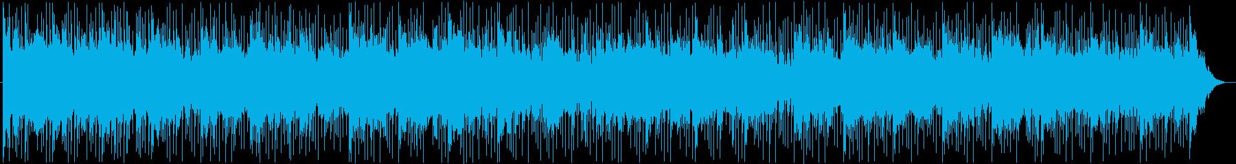 ジャンベ、コンガ、クレーブ、渦巻く...の再生済みの波形