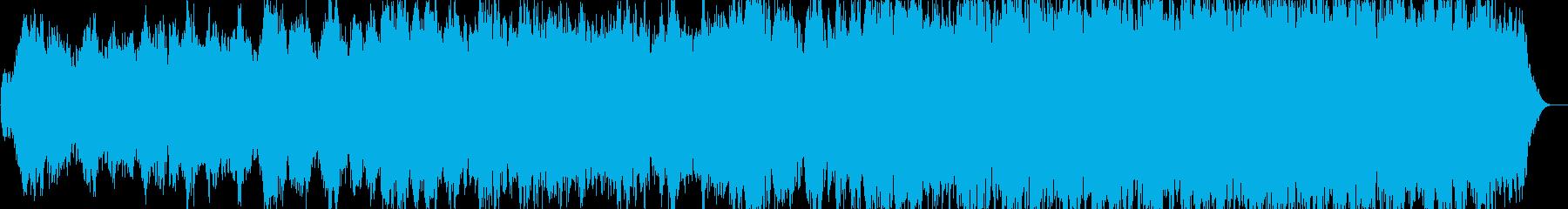 癒し系女性ボーカルの再生済みの波形