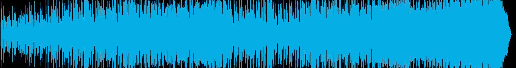 座敷童子の音楽、和風テイストの再生済みの波形