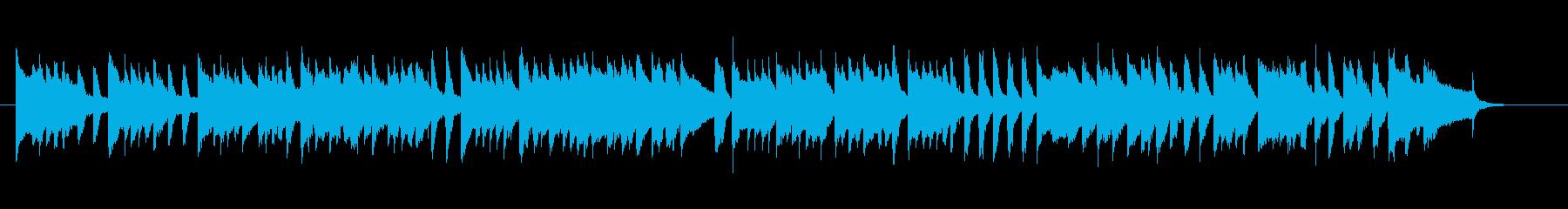 一番有名なメヌエットをチェンバロでの再生済みの波形