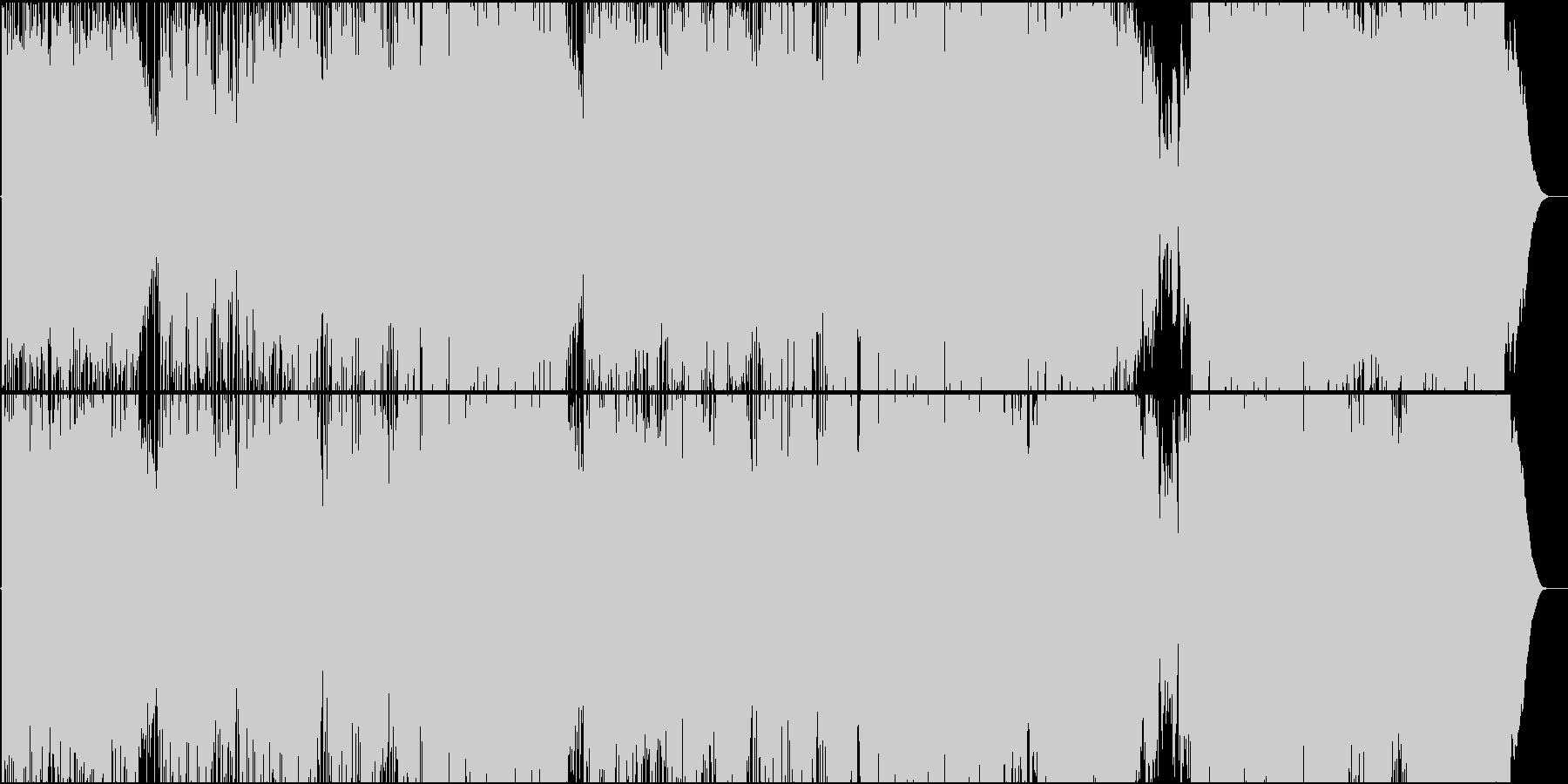 生演奏。アコギメインのポップロックの未再生の波形
