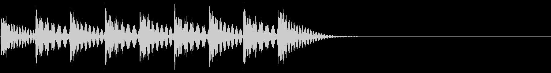 着信音のイメージ(ループ可)の未再生の波形
