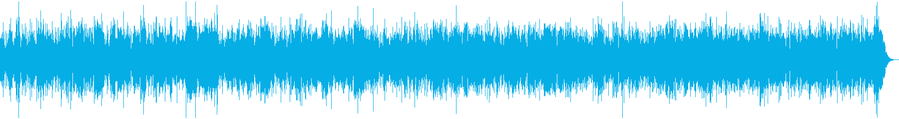 ウクレレのリラックスハワイアンバンドの再生済みの波形