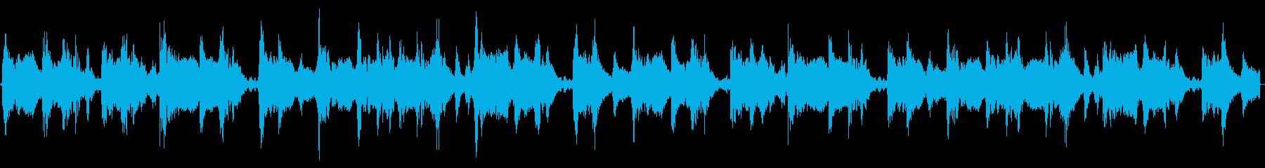 純粋なHip-Hopのループ楽曲です。の再生済みの波形