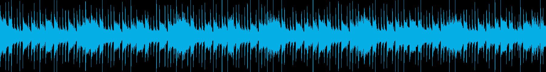 緊迫感ある一曲 ダイジェスト等に ループの再生済みの波形