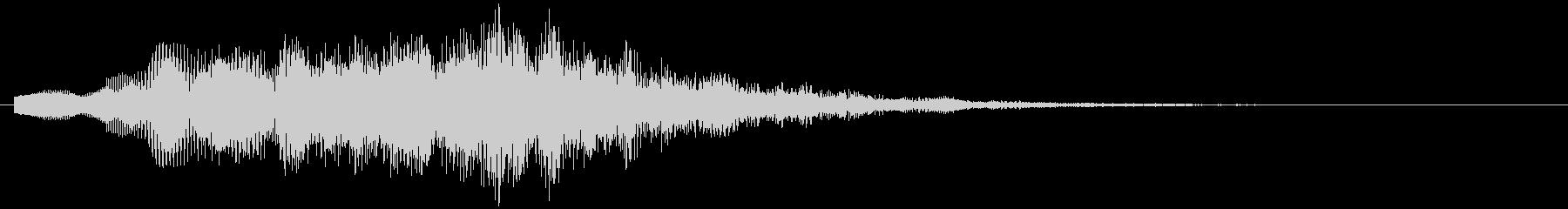KANT涼しげアイキャッチ09223の未再生の波形
