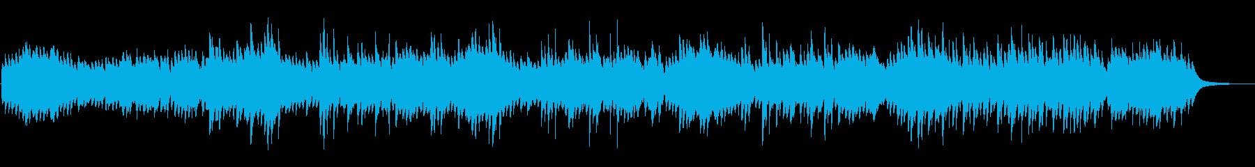 爽やか癒しピアノCMVPアンビエントの再生済みの波形