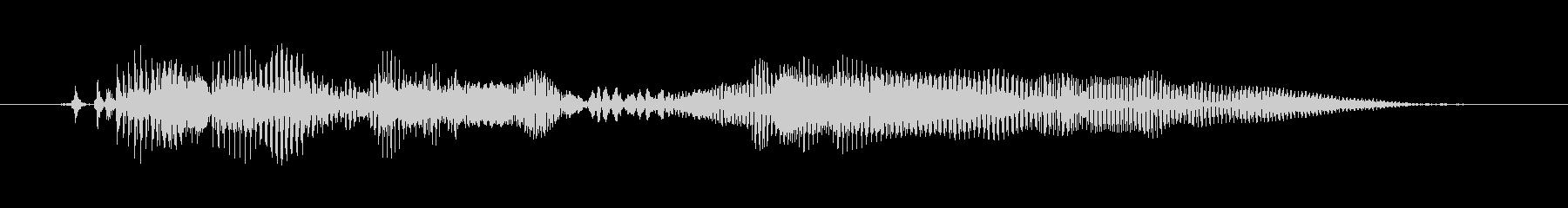 マンチカン、男性の声:わからないの未再生の波形