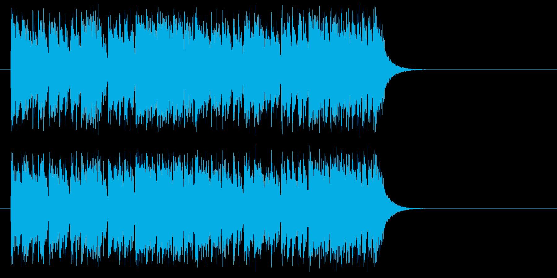 軽妙酒脱フットワーク・サウンドの再生済みの波形